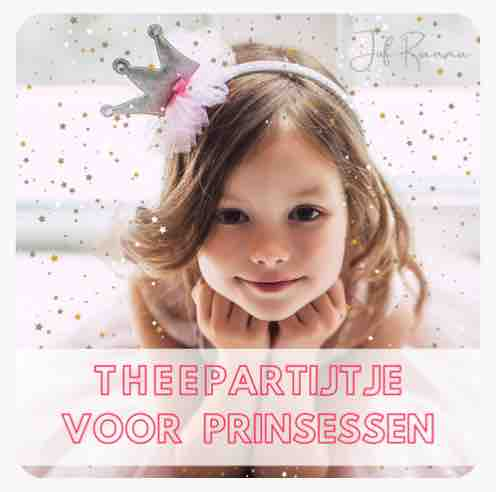 Nederlandse les Theepartijtje voor prinsessen