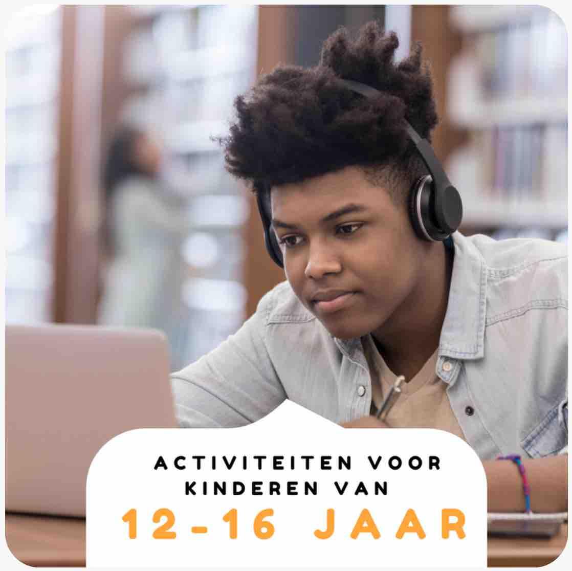 Nederlandstalige activiteiten voor kinderen van 12-16 jaar