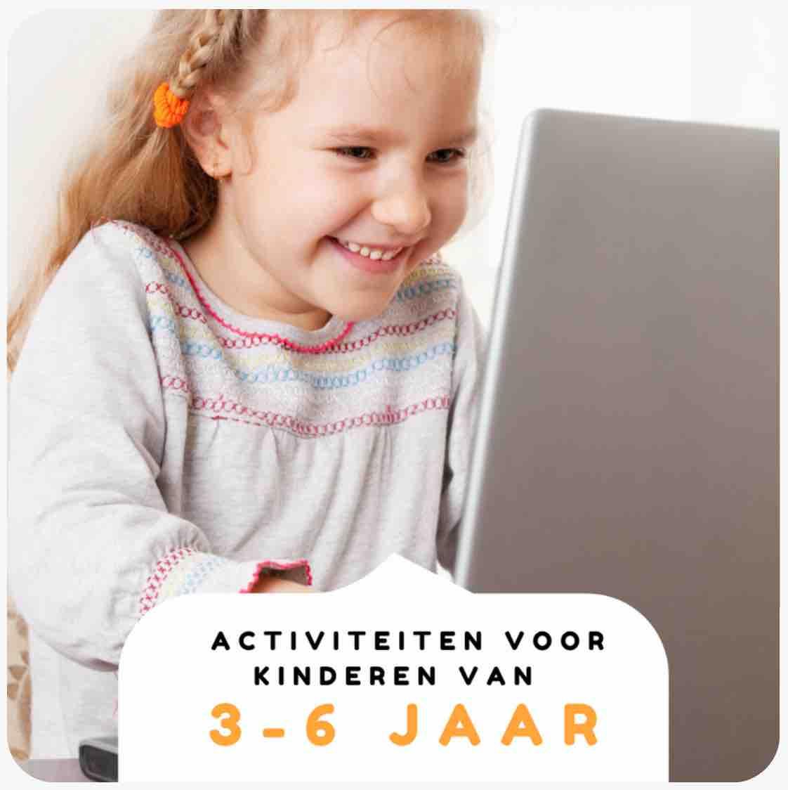 Nederlandstalige activiteiten voor kinderen van 3-6 jaar
