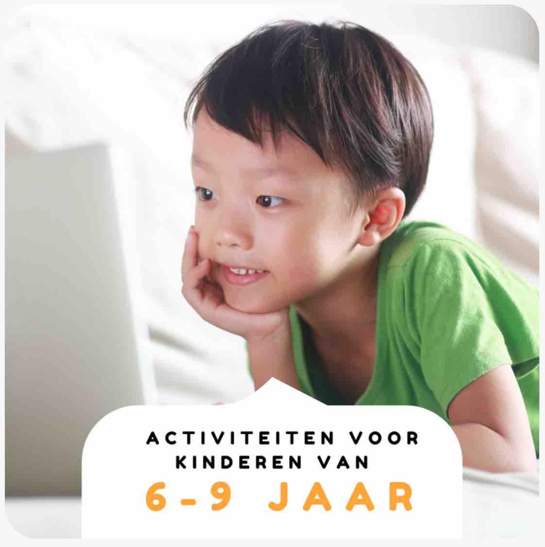 Nederlandstalige activiteiten voor kinderen van 6-9 jaar