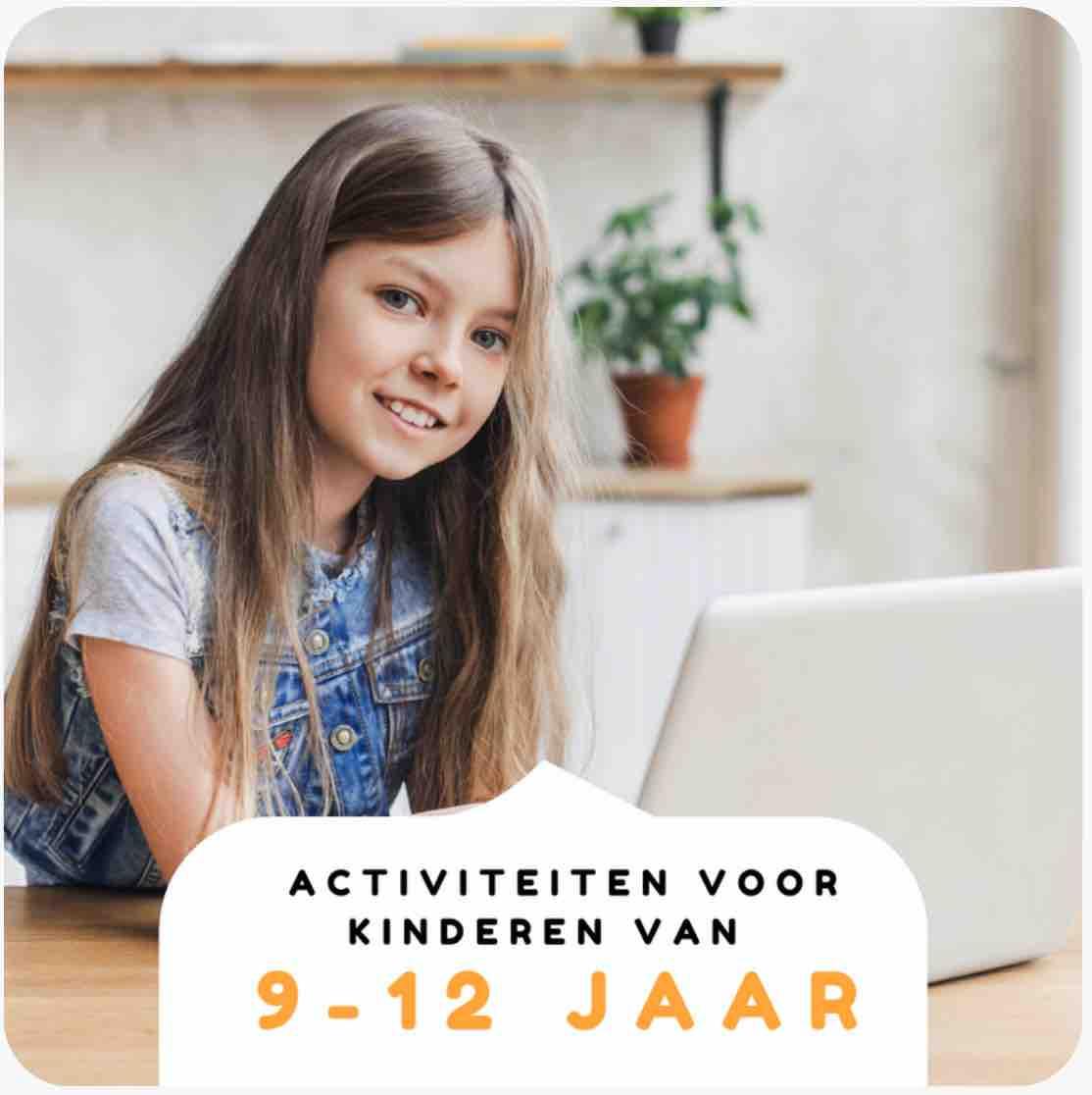Nederlandstalige activiteiten voor kinderen van 9-12 jaar